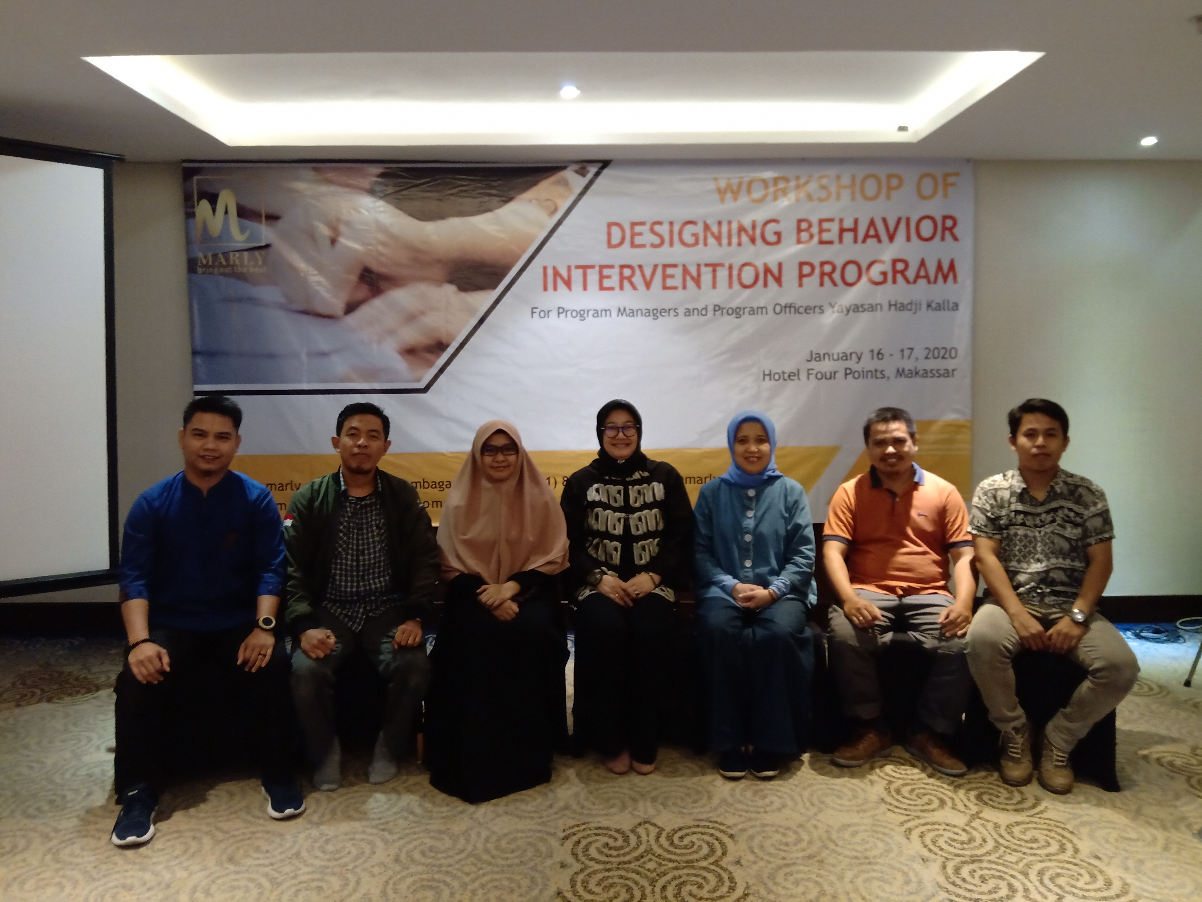 [BERITA FOTO] : TRAINING TIM YAYASAN HADJI KALLA DENGAN TEMA DESIGNING BEHAVIOR INTERVENTION PROGRAM